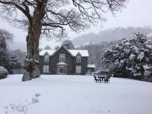 Hazel Bank Country House during the winter