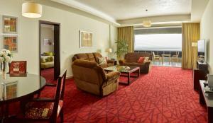 منطقة جلوس في فندق راديسون بلو، الإسكندرية