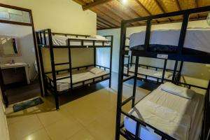 A bunk bed or bunk beds in a room at In Da Lodge