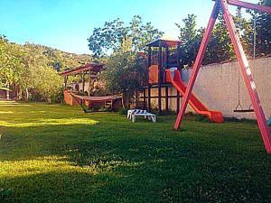 Area giochi per bambini di Casa Vacanze Borgo Borghese