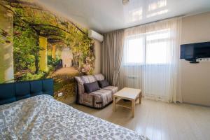 Гостиная зона в Apartment on Krasnoarmeyskaya
