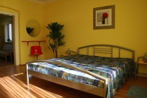 Postel nebo postele na pokoji v ubytování Hotel Na Vodách