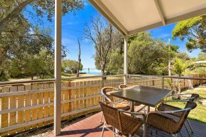 A balcony or terrace at Kaloha Holiday Resort Phillip Island