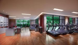 The fitness centre and/or fitness facilities at Grand Hyatt Dubai