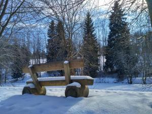 Ferienwohnung Rathke im Winter