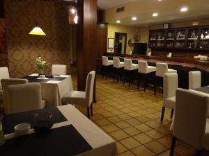 El salón o zona de bar de Hotel Restaurante Florida