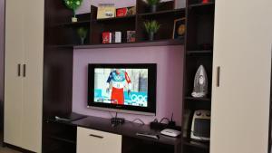 Телевизор и/или развлекательный центр в Апартаменты на Ул. Гоголя, д. 103