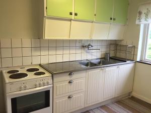 Ett kök eller pentry på Peterslund