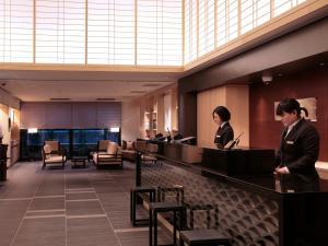 京都四條新町穎特飯店大廳或接待區