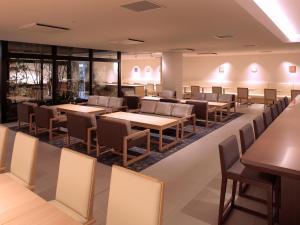 京都四條新町穎特飯店餐廳或用餐的地方
