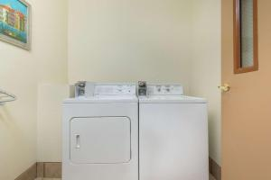 A kitchen or kitchenette at Super 8 by Wyndham Abilene South
