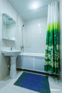 Ванная комната в Agat Hotel