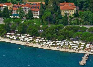 A bird's-eye view of Hotel Marko