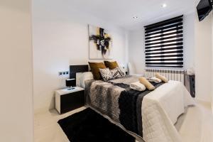 Cama o camas de una habitación en Rent Apartment-Flat Salamanca