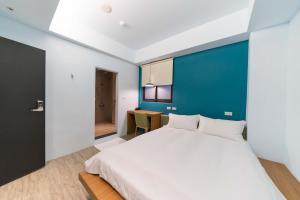 雙鳳大旅社房間的床