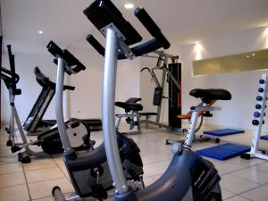 Gimnasio o equipamiento deportivo en Hotel Sierra de los Padres