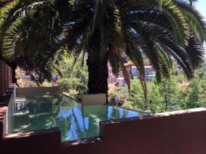 Vista de la piscina de Casa Puente Hotel Boutique o alrededores