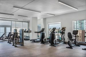 The fitness center and/or fitness facilities at Le Méridien Denver Downtown