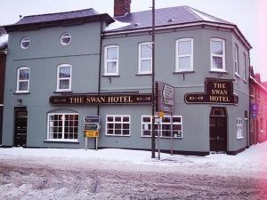 The Swan during the winter