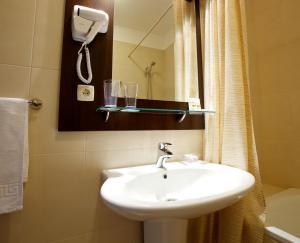 Ванная комната в CityClub Hotel
