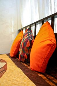 Кровать или кровати в номере Апартаменты Альянс на Соколова