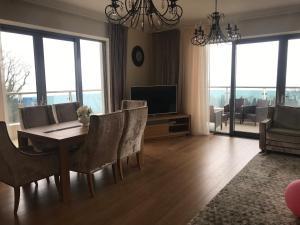 Гостиная зона в Apartment Ideal House Sochi