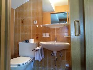 Ein Badezimmer in der Unterkunft Haus Hoher Sattel