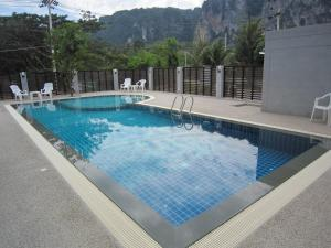 The swimming pool at or close to Ao Nang Miti Resort