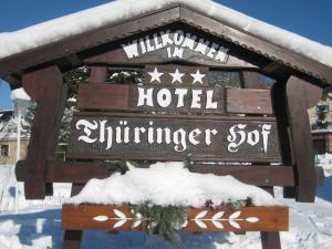 Hotel Thüringer Hof im Winter