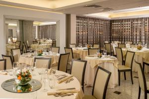 A restaurant or other place to eat at Enea