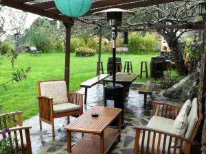 Un restaurante o sitio para comer en Finca San Pablo Icod de los Vinos