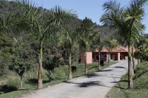 O edifício em que o hotel-fazenda rural se localiza