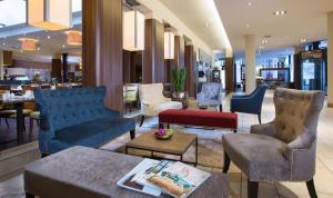 Lounge oder Bar in der Unterkunft Lindner Hotel Am Michel