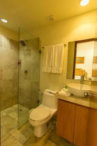 Ванная комната в Coral Maya Stay Suites