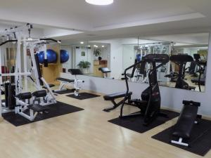 The fitness center and/or fitness facilities at Sheraton Presidente San Salvador