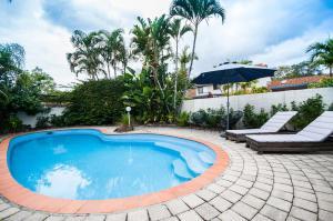 The swimming pool at or near Barbados Noosa