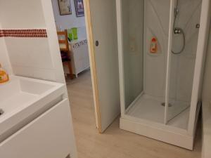 Salle de bains dans l'établissement Appartements Cote pont Vieux-Self Check-In