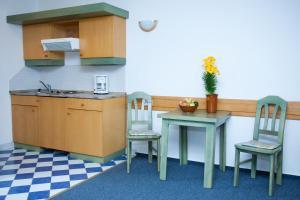 A kitchen or kitchenette at Abbazia Country Club superior