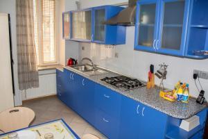 Кухня или мини-кухня в Baku Boulevard