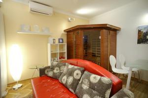 Гостиная зона в Apartment Hermes