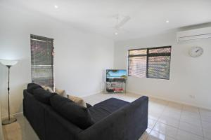 A seating area at 6 Petrie Ave, Marcoola, Pet Friendly, Linen supplied