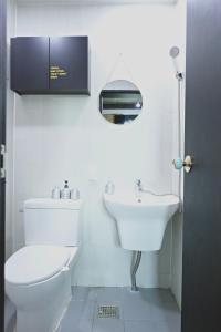 A bathroom at Mosc