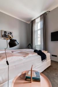 Postel nebo postele na pokoji v ubytování Hotel city.city