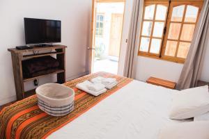 Cama ou camas em um quarto em De Blasis B&B