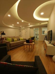 Posezení v ubytování Apartamento Ciconia