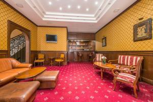 En sittgrupp på Sveta Sofia Hotel