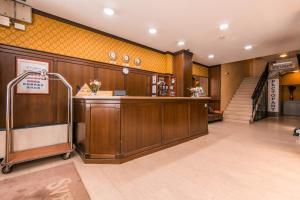 Lobbyn eller receptionsområdet på Sveta Sofia Hotel