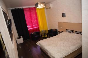 Кровать или кровати в номере Бизнес-отель Сити
