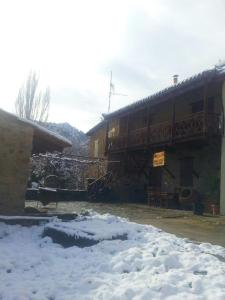 Xenis House during the winter