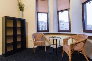 Гостиная зона в Simple Komnaty na Nekrasova